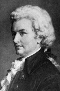 Abbildung von Mozart