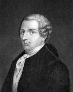 Joseph Haydn auf einem Stich