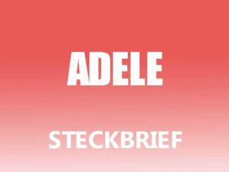 Teaserbild - Adele Steckbrief