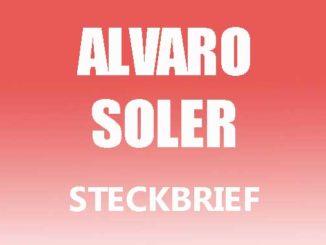 Teaserbild - Alvaro Soler Steckbrief