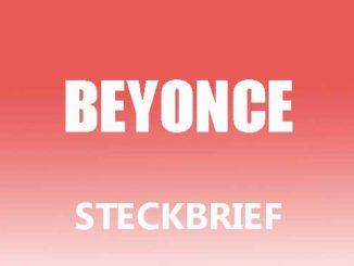 Teaserbild - Beyonce Steckbrief