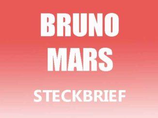 Teaserbild - Bruno Mars Steckbrief