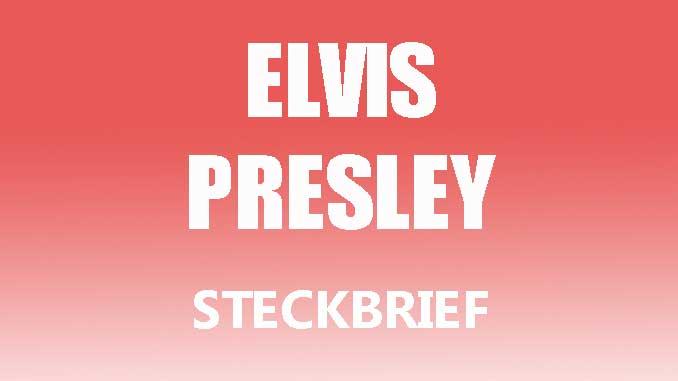 Teaserbild - Elvis Presley Steckbrief