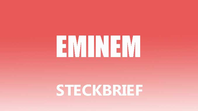 Teaserbild - Eminem Steckbrief