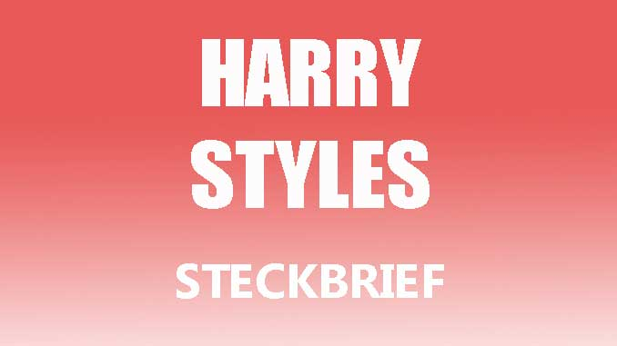 Teaserbild - Harry Styles Steckbrief