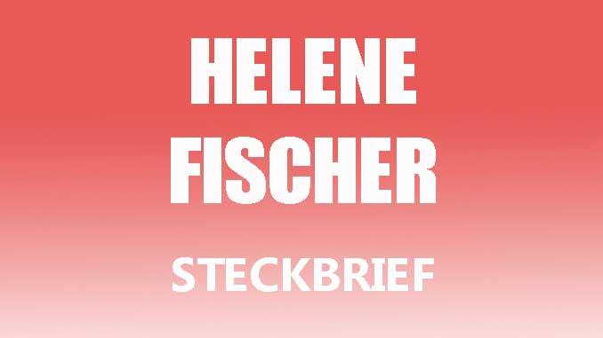 Teaserbild - Helene Fischer Steckbrief