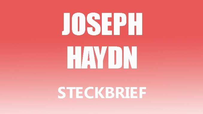 Teaserbild - Joseph Haydn Steckbrief