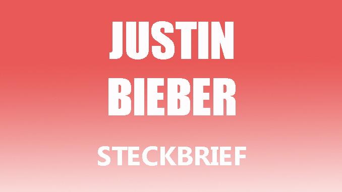 Teaserbild - Justin Bieber Steckbrief
