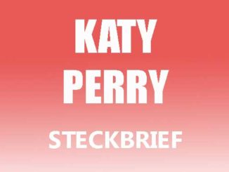 Teaserbild - Katy Perry Steckbrief