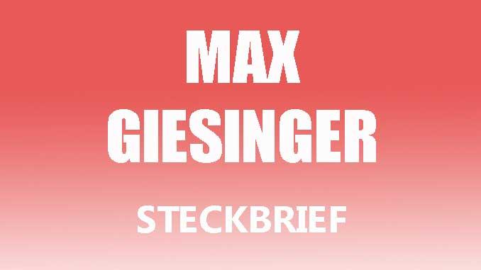 Teaserbild - Max Giesinger Steckbrief