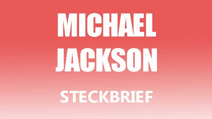 Teaserbild - Michael Jackson Steckbrief