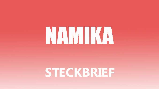 Teaserbild - Namika Steckbrief