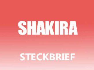 Teaserbild - Shakira Steckbrief