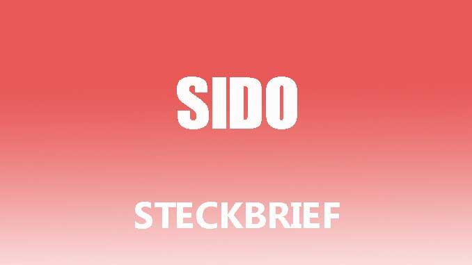Teaserbild - Sido Steckbrief