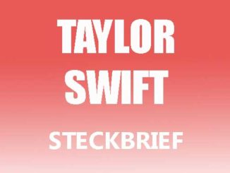 Teaserbild - Taylor Swift Steckbrief