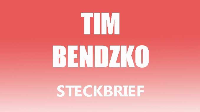 Teaserbild - Tim Bendzko Steckbrief