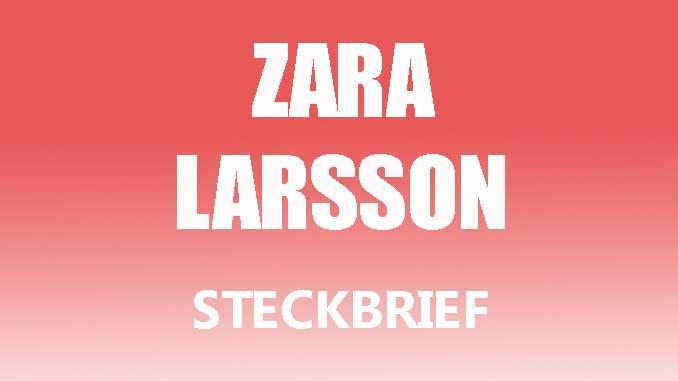 Teaserbild - Zara Larsson Steckbrief